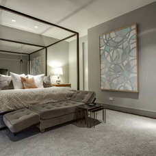 Transitional Bedroom by Shoot2Sell.net