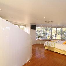 Tropical Bedroom by SBT Designs