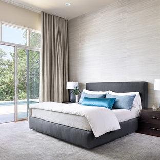 Trendy bedroom photo in Austin