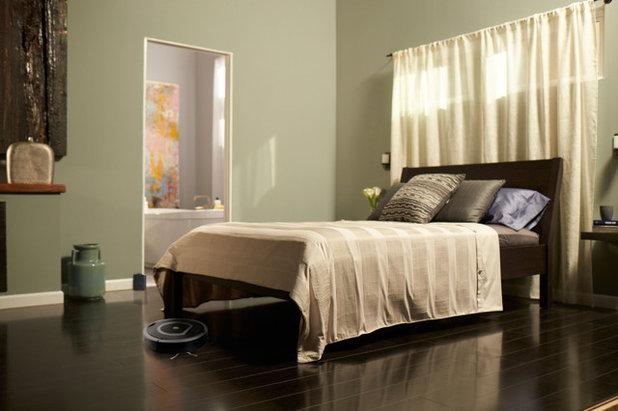 Contemporary Bedroom by iRobot