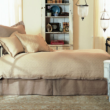 Iron & Brass Sleigh Daybed- Wrought
