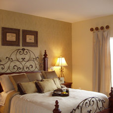 Traditional Bedroom by Interiors by Kitt
