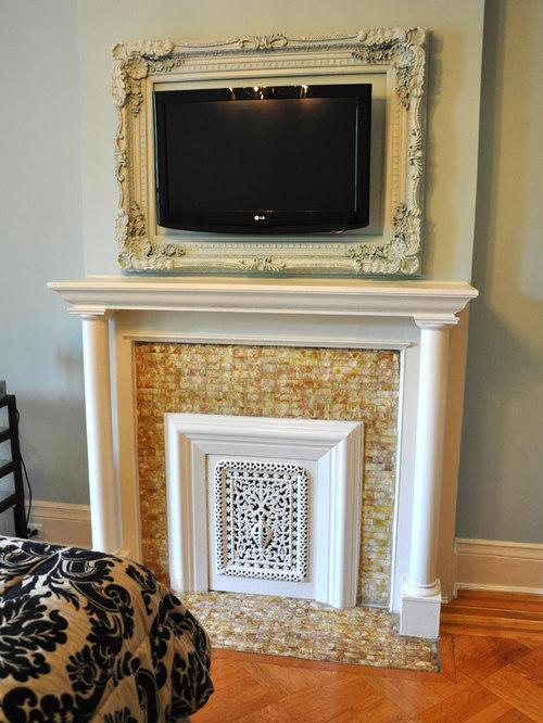 Wood Frame Around Fireplace Houzz