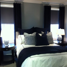 Contemporary Bedroom by Andrew Joseph Designs, Allied ASID