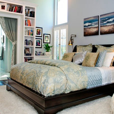 Traditional Bedroom by KK Design Koncepts
