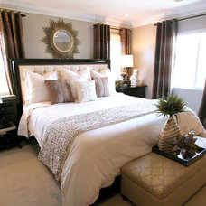Eclectic Bedroom by Nagwa Seif Interior Design