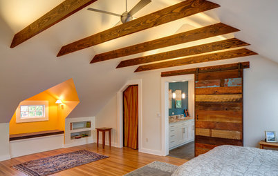 Room of the Day: Storage Attic Now an Uplifting Master Suite