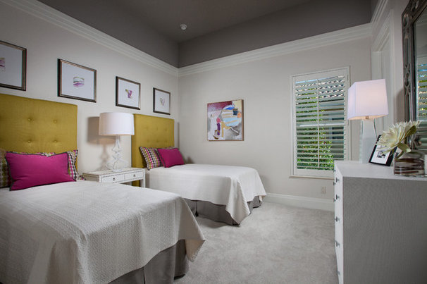 Transitional Bedroom by London Bay Homes