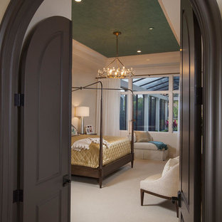 Transitional bedroom photo in Miami