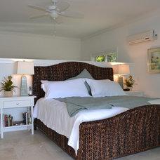Tropical Bedroom by Modus Custom Residences