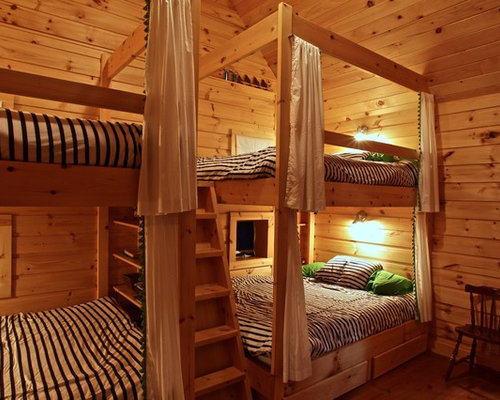 Bunkie ideas pictures remodel and decor for Bunkie interior designs