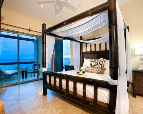 Mediterranean New Orleans Bedroom Design Ideas Remodels