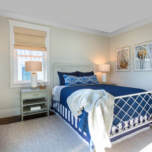 Example of a beach style bedroom design in Charleston
