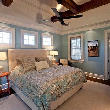 Isle of Palms Modern Cottage Bedroom