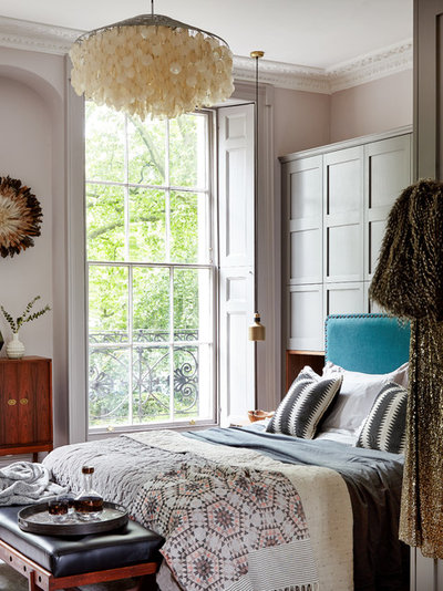 Transitional Bedroom by Run for the Hills