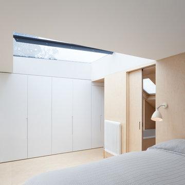 Master bedroom skylight
