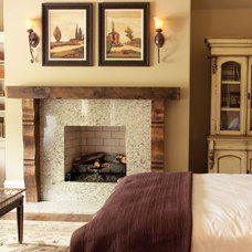 Traditional Bedroom by Rustic Brick and Stone