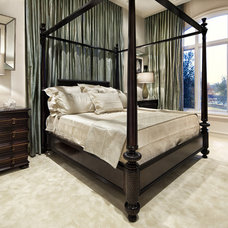 Contemporary Bedroom by JAUREGUI Architecture Interiors Construction