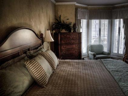 Mediterranean Bedroom by Nashville House Painters