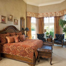 Mediterranean Bedroom by Wesley-Wayne Interiors, LLC