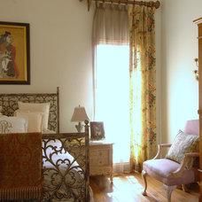 Mediterranean Bedroom by Benson & Associates, Interior Design