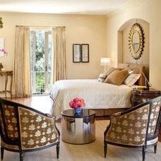 Traditional Bedroom by Christopher Gaona Design Studio