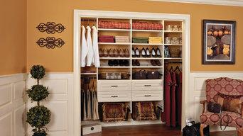 Ivory Reach-In Closet