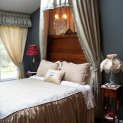 traditional bedroom by Kaufman Creative  Marketing & Design