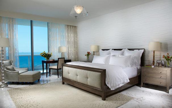 Contemporary Bedroom by J Design Group - Interior Designers Miami - Modern