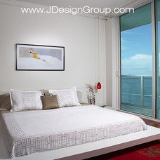Contemporary Bedroom by J Design Group - Interior Designers Miami - Modern
