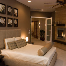 Contemporary Bedroom by DIVA INTERIOR CONCEPTS