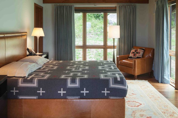 Rustic Bedroom by Howells Architecture + Design