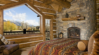 Jackson Hole, WY, Log Home