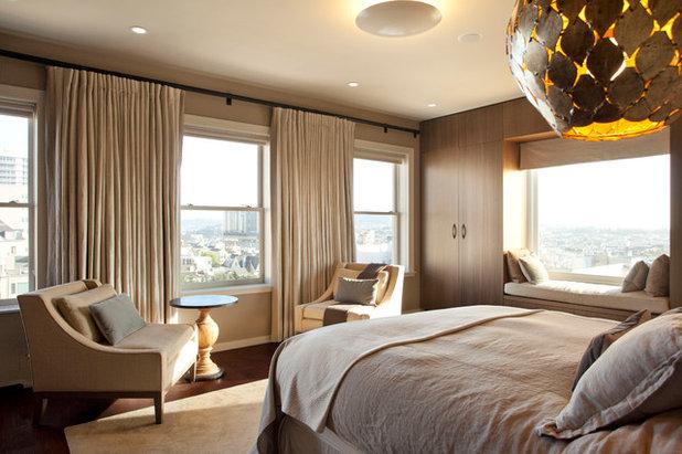Contemporary Bedroom by De Meza + Architecture