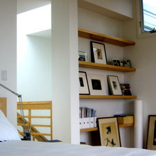 Contemporary Bedroom by James Hill Architect, AIA
