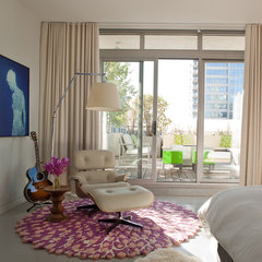 modern bedroom by jamesthomas, LLC