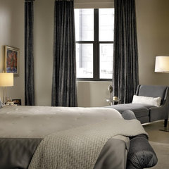 contemporary bedroom by jamesthomas, LLC