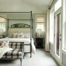 Farmhouse Bedroom by jamesthomas, LLC