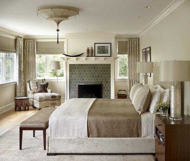 Eclectic Bedroom by jamesthomas, LLC