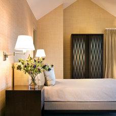 Modern Bedroom by Jamie Herzlinger