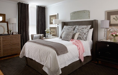 A Bedroom Lets Go to Gain Elegance and Serenity