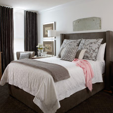 traditional bedroom by Jane Lockhart Interior Design