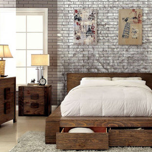 Janeiro 5 PC Storage Bedroom Set by Furniture of America