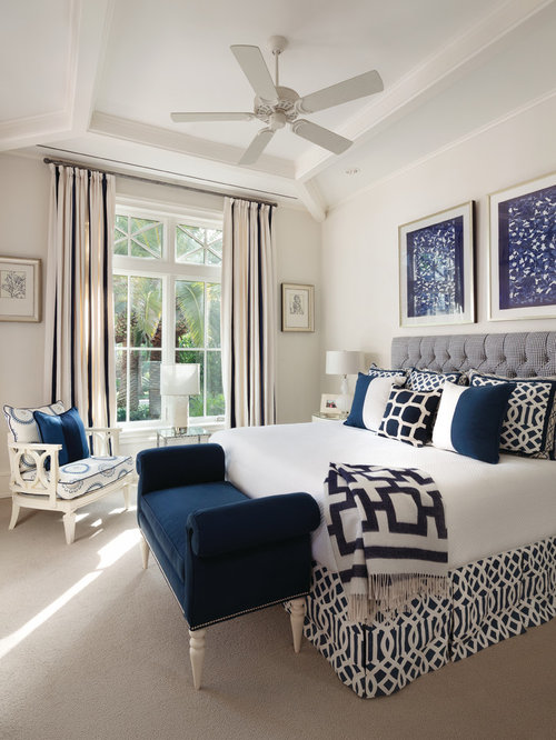 Transitional Master Bedroom Design Ideas Remodels Photos Houzz