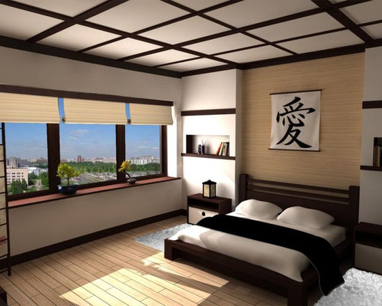 Japanese Bedroom japanese-inspired bedroom | houzz