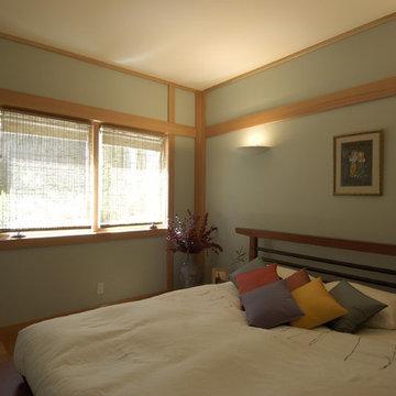 Japanese Inspired Remodel in Noe Valley-Bedroom