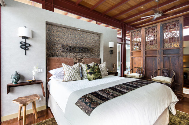Trend Asian Bedroom by Charmean Neithart Interiors