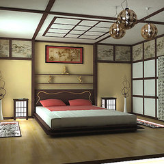 asian bedroom Japanese style bedroom