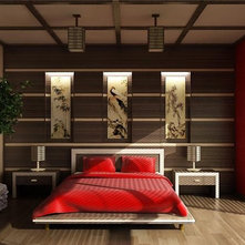 Asian themed Bedrooms - an Ideabook by dlynne