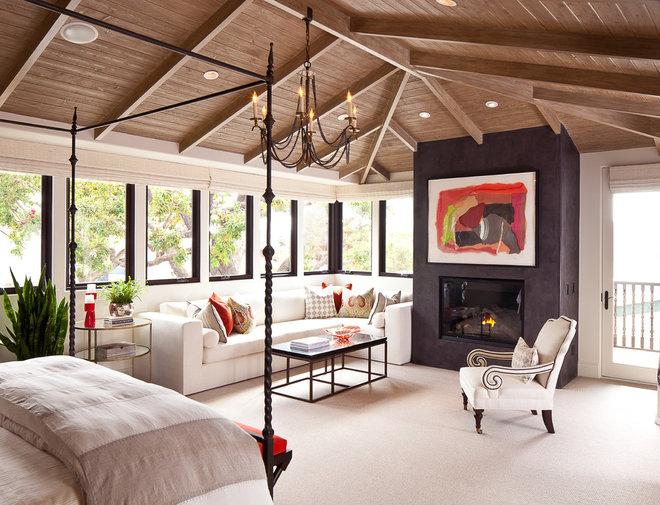 Mediterranean Bedroom by D for Design